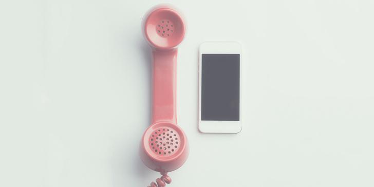 電話に電話