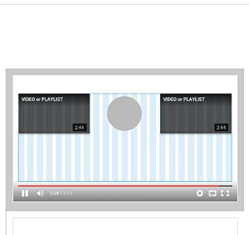 チャンネル登録1を動画2で挟むデザイン