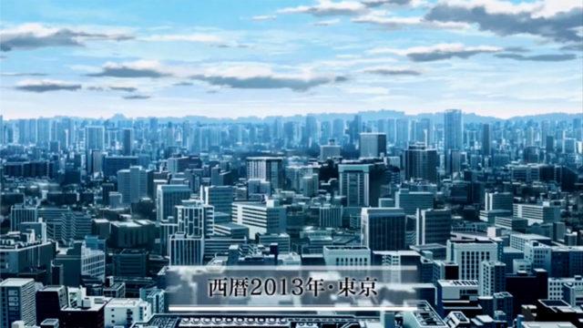 アニメ「幼女戦記」2話の冒頭カット